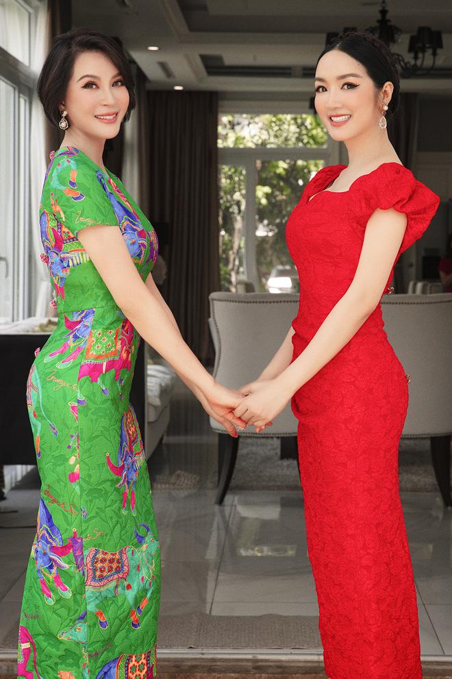 Giáng My đến thăm căn biệt thự triệu đô của Thanh Mai - Ảnh 1.