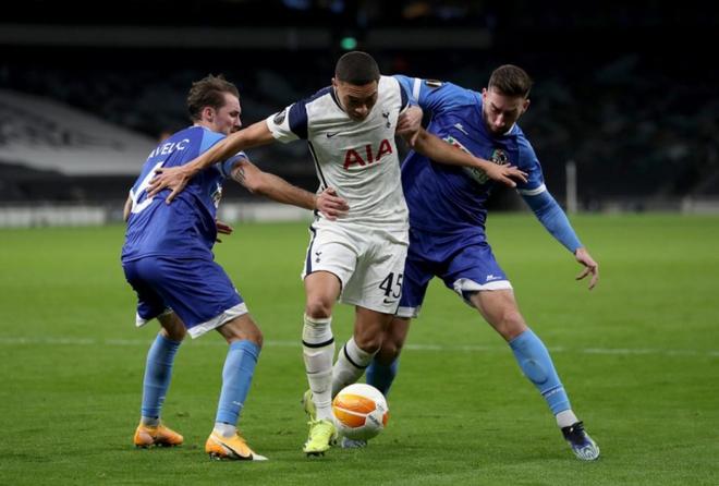 Bale và Alli tỏa sáng, Tottenham giành vé đầu tiên vào vòng 1/8 Europa League - Ảnh 1.