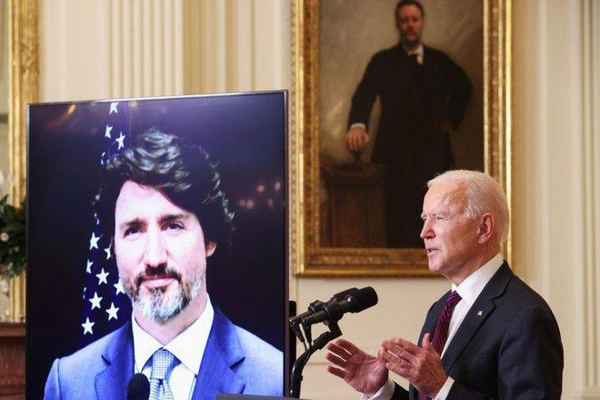 Sau kế hoạch đá TQ khỏi chuỗi cung ứng: TT Biden hẹn ông Trudeau cùng chĩa mũi dùi vào Bắc Kinh - Ảnh 3.