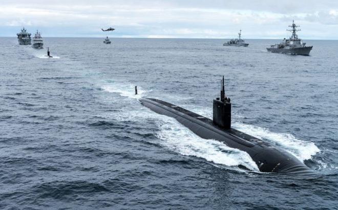 NATO tổ chức diễn tập chống tàu ngầm