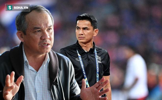 Trả lời phỏng vấn báo Thái Lan, Kiatisuk nói điều trái ngược với tuyên bố của bầu Đức