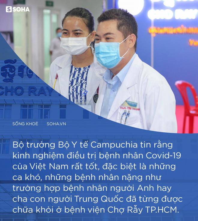 Ngay sau khi Thủ tướng Hun Sen chọn Chợ Rẫy Phnom Pênh, nhiều người bệnh gọi tôi: Thế thì còn đi khám gì nữa! - Ảnh 3.