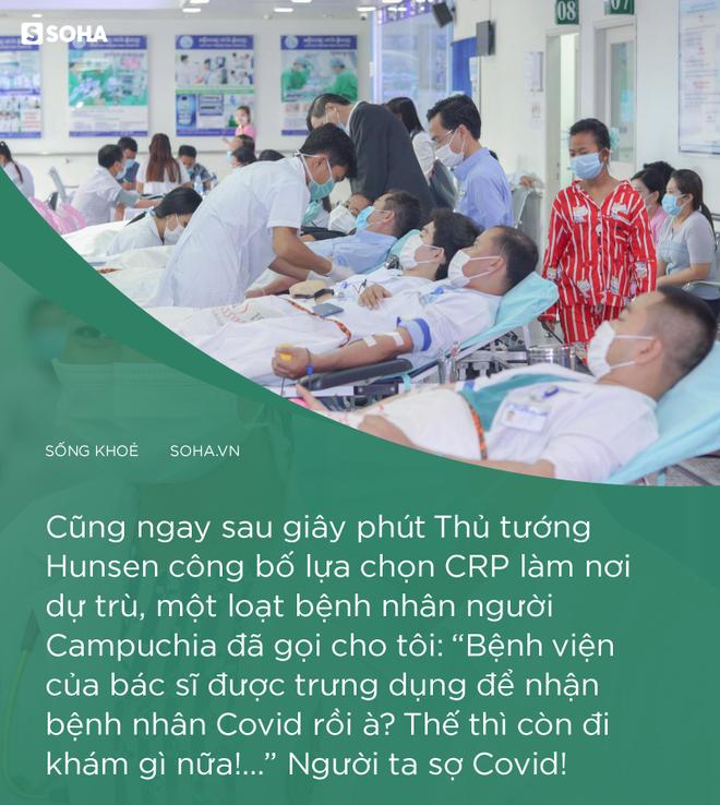Ngay sau khi Thủ tướng Hun Sen chọn Chợ Rẫy Phnom Pênh, nhiều người bệnh gọi tôi: Thế thì còn đi khám gì nữa! - Ảnh 4.