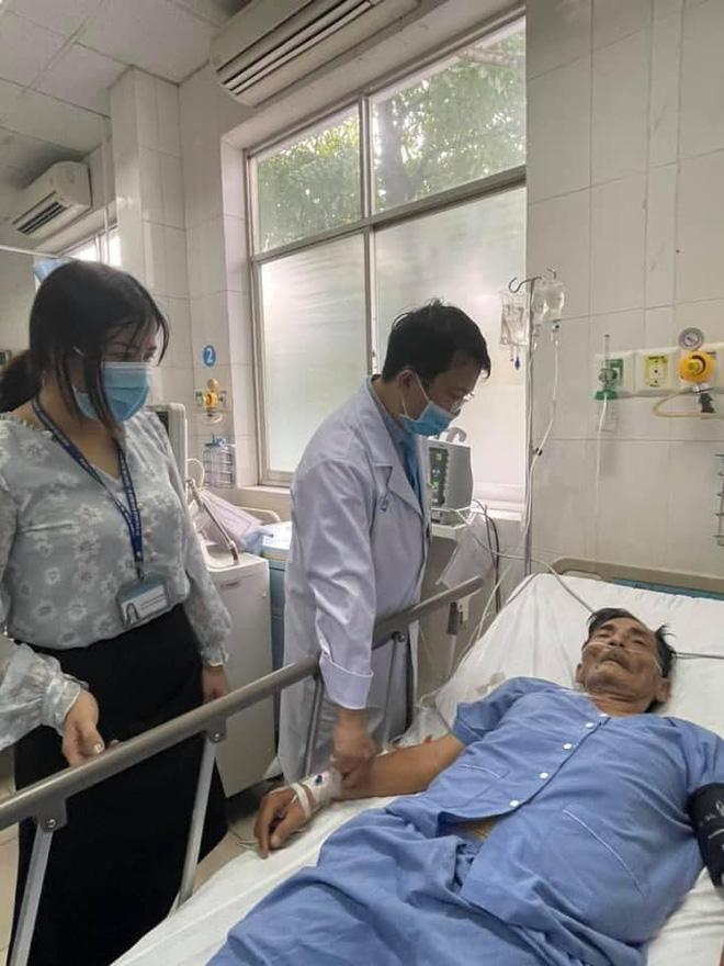 Diễn viên Thương Tín đột quỵ, sức khỏe nguy kịch, chưa liên hệ được người thân - Ảnh 3.
