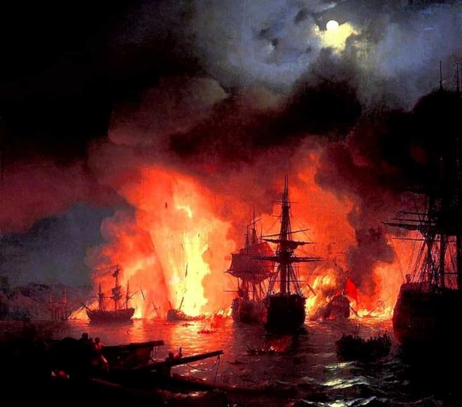 Điểm lại những trận chiến trên biển lớn nhất trong lịch sử thế giới  - Ảnh 7.