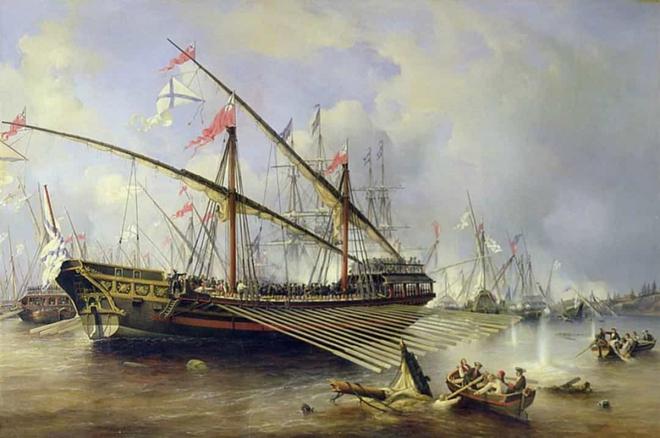 Điểm lại những trận chiến trên biển lớn nhất trong lịch sử thế giới  - Ảnh 8.