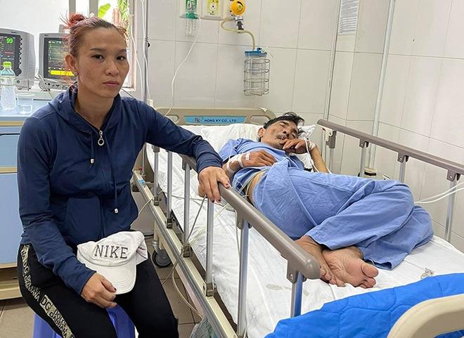 Vợ Thương Tín tiết lộ: Anh ấy bảo đưa anh về nhà đi, anh nghĩ không ổn rồi - Ảnh 4.