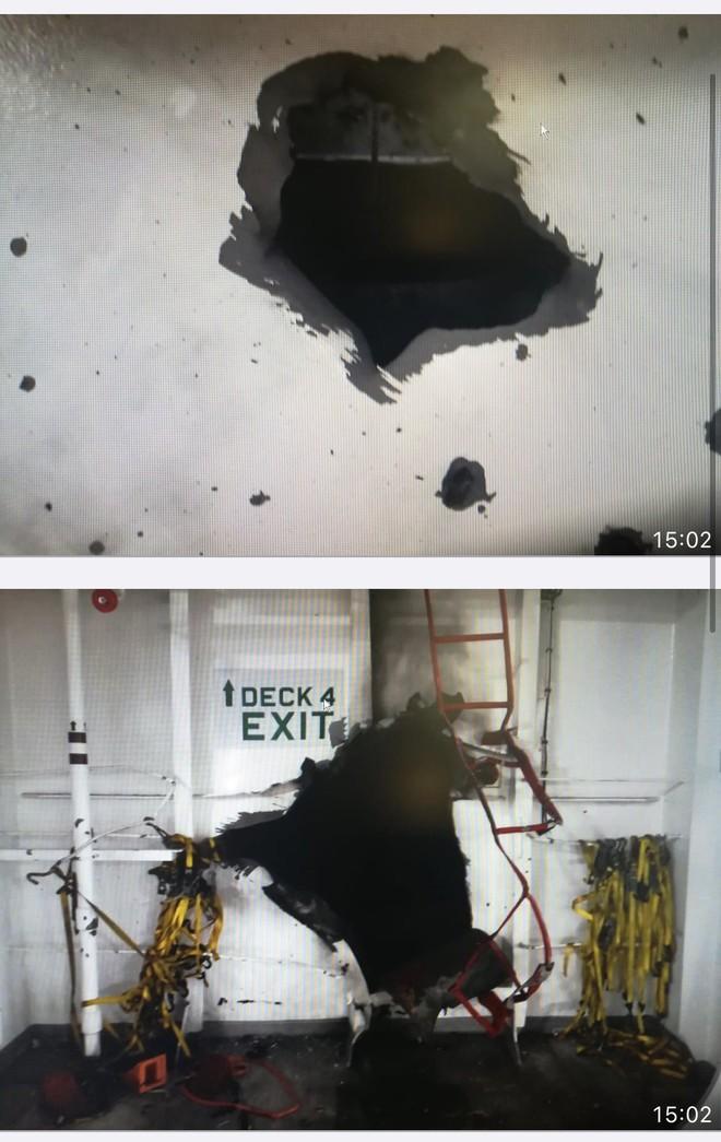 Tàu Anh bị nổ trên vịnh Oman, Iran trả thù? - Chiến đấu cơ Nga dồn dập không kích ở Syria, - Ảnh 2.