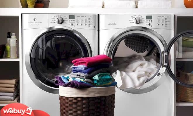 Giá máy giặt lồng ngang 8,5-9,5kg giảm sốc, dòng giặt sấy rẻ hơn 5 triệu đồng mùa nồm ẩm - Ảnh 2.
