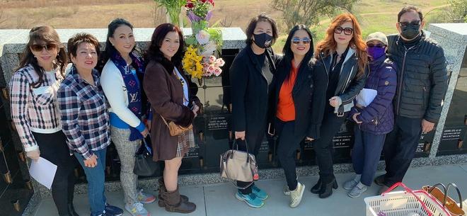 Vợ cũ Bằng Kiều chia sẻ xúc động khi thăm nơi an nghỉ của cố nghệ sĩ Chí Tài - Ảnh 3.