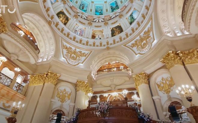 Lạc lối trong cung điện của đại gia Thành Thắng Group: Cao bằng toà nhà 18 tầng, diện tích sàn 15.000m2, 20 phòng ngủ, dát vàng khắp nơi