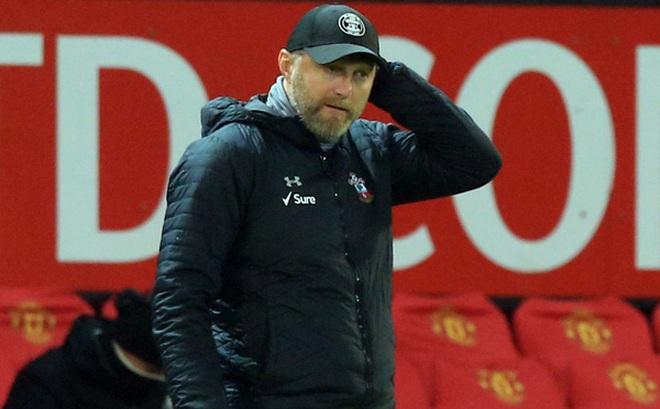 HLV Southampton thừa nhận sai lầm trong thảm bại 0-9 trước Man Utd