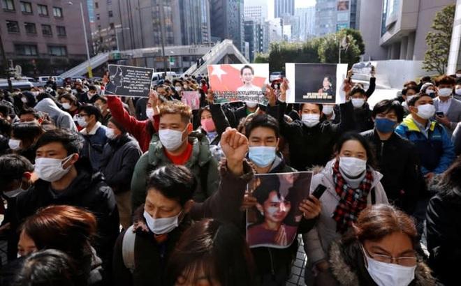 Nhật phản ứng trái ngược với các nước Bộ Tứ về chính biến Myanmar: Lý do liên quan đến TQ?