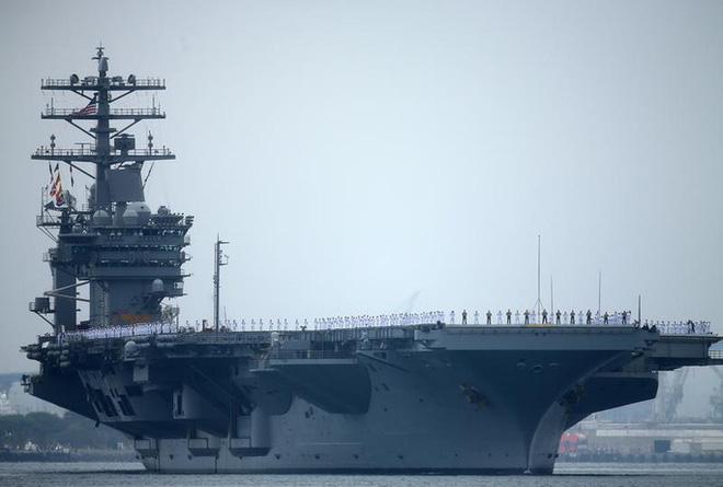 Tàu sân bay Mỹ trở lại điểm nóng, gửi thông điệp đến Trung Quốc - Ảnh 1.