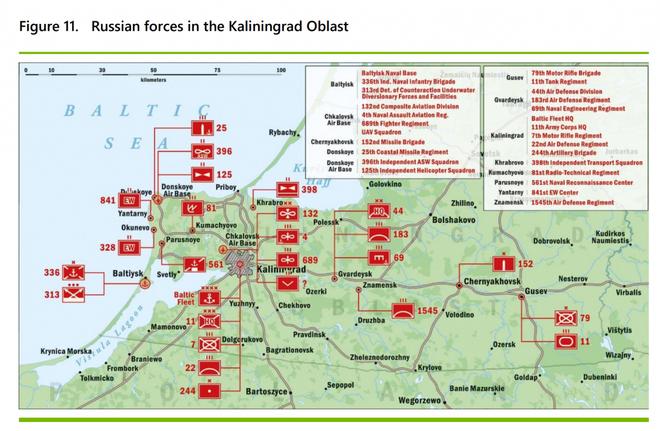 Kịch bản tấn công Kaliningrad, lãnh thổ của Nga: Lạnh buốt sống lưng? - Ảnh 3.