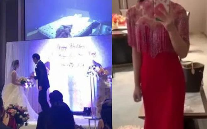 Từ hình ảnh phù dâu cưỡng hôn chú rể đến clip nóng của cô dâu được phát giữa buổi tiệc và loạt đám cưới chấn động MXH gần đây