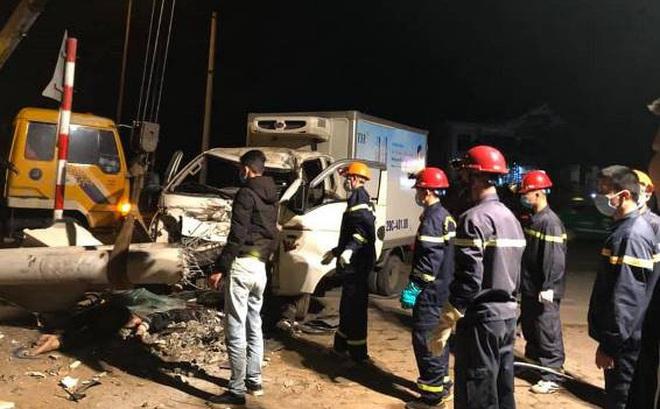 Nghệ An: Xe tải tông xe máy khiến 3 người tử vong