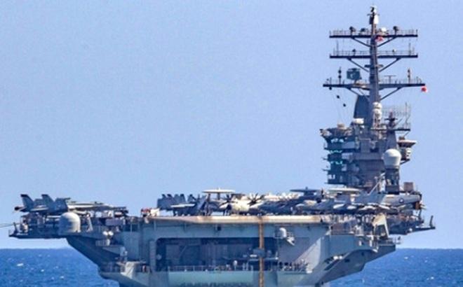 Nhóm tác chiến tàu sân bay của Mỹ tiến sát Biển Đông