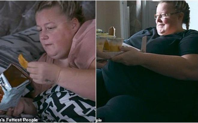 Vợ nặng 190 kg chỉ nằm yên một chỗ, chồng vẫn phục vụ nhu cầu ăn vặt cả ngày lẫn đêm