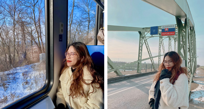 Du học châu Âu giữa đại dịch, nữ sinh 2K1 chạnh lòng nhớ Tết Hà Nội - ảnh 1