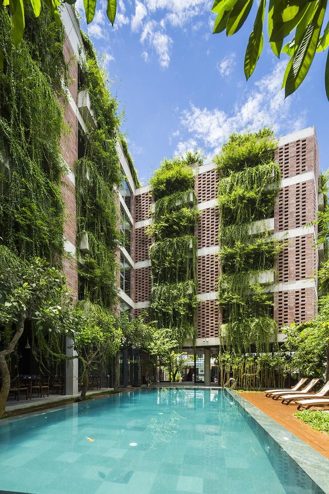Khách sạn 5 tầng xanh mướt ở Hội An nổi bật trên báo ngoại - Ảnh 7.