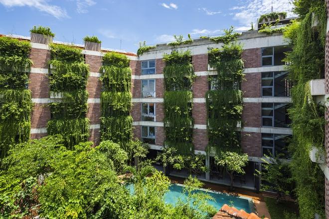 Khách sạn 5 tầng xanh mướt ở Hội An nổi bật trên báo ngoại - Ảnh 5.