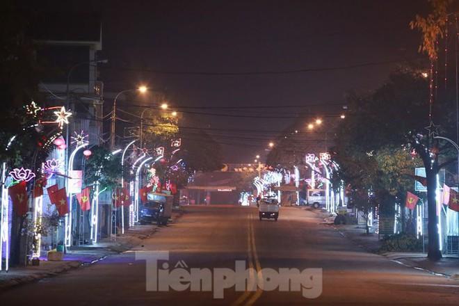 Rực sáng những cung đường nêu đón Tết ở xứ Nghệ - Ảnh 5.