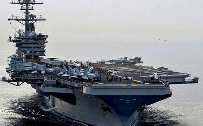 Tàu Mỹ, Pháp ồ ạt đến biển Đông