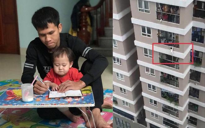 Người hùng trượt chân trên mái tôn dốc, nhưng vẫn cố nhoài người đưa tay ra đỡ được cháu bé rơi từ tầng 12A - Ảnh 10.