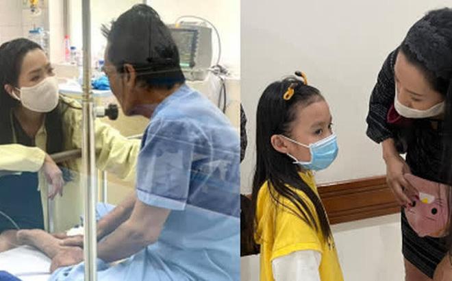 NS Trịnh Kim Chi công bố đã kêu gọi được hơn 270 triệu giúp đỡ NS Thương Tín, con gái vừa đến thăm bố ở bệnh viện