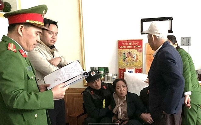 Cảnh sát tìm bị hại trong vụ án tại Công ty Bảo hiểm dầu khí PVI Thái Nguyên