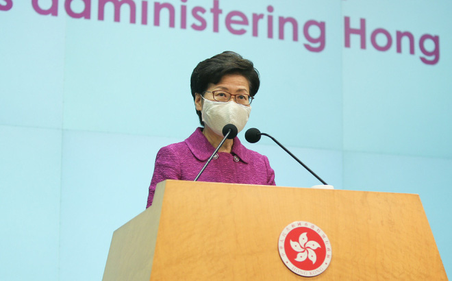 Bà Carrie Lam hứa hợp tác với trung ương cải tổ bầu cử Hồng Kông: Chi tiết hé lộ sự vội vàng của Bắc Kinh