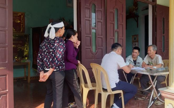 Công an đã xác minh và thông tin về vụ chôn cất người bị tai nạn ngay trong đêm ở Thanh Hóa