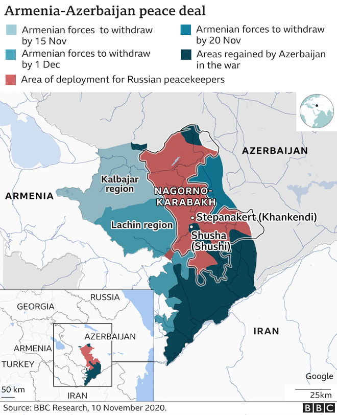 44 ngày tử chiến ở bắc Karabakh: Vũ khí nào giúp quân Armenia cầm chân địch bất chấp UAV? - Ảnh 2.