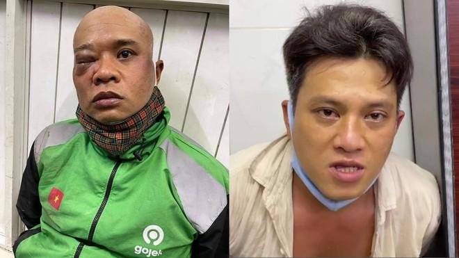 Nghẹt thở xem clip trinh sát hình sự truy bắt 2 kẻ trộm như phim hành động ở TP.HCM - Ảnh 1.