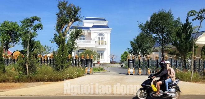 Thanh tra Sở Xây dựng Lâm Đồng vào cuộc xử lý vụ biệt thự khủng xây không phép - Ảnh 2.