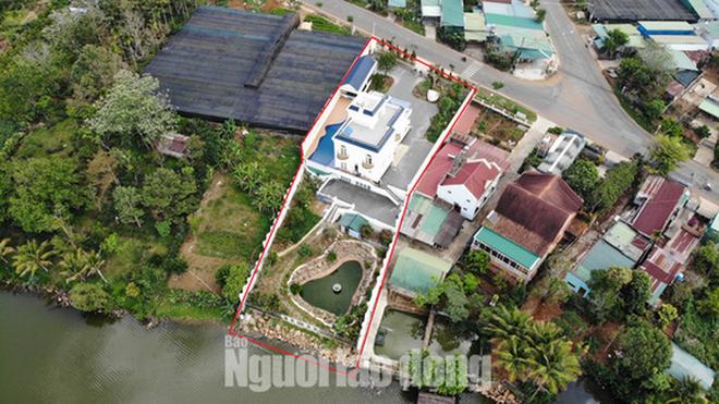 Thanh tra Sở Xây dựng Lâm Đồng vào cuộc xử lý vụ biệt thự khủng xây không phép - Ảnh 4.