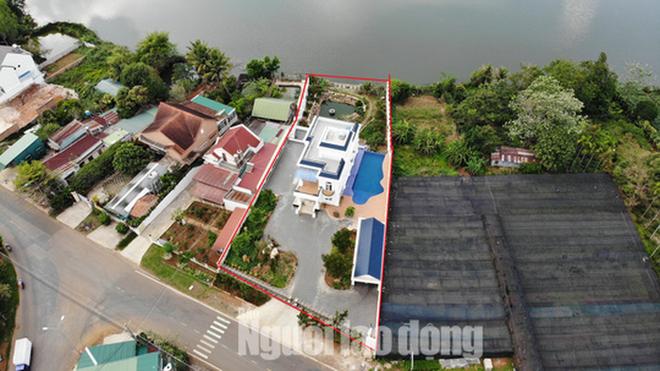 Thanh tra Sở Xây dựng Lâm Đồng vào cuộc xử lý vụ biệt thự khủng xây không phép - Ảnh 5.