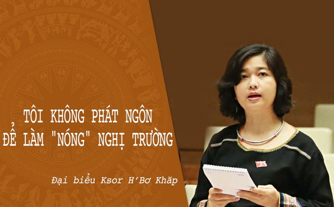 Nữ đại biểu Quốc hội Ksor H'Bơ Khăp không tái ứng cử khoá XV, muốn chuyên tâm phục vụ ngành công an