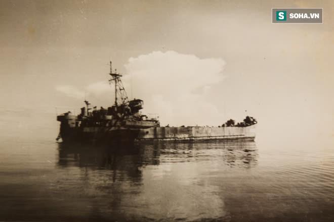 Cận cảnh xác tàu HQ 605 và những chiến sĩ sống sót cuối cùng trong trận hải chiến Gạc Ma 1988 - Ảnh 2.