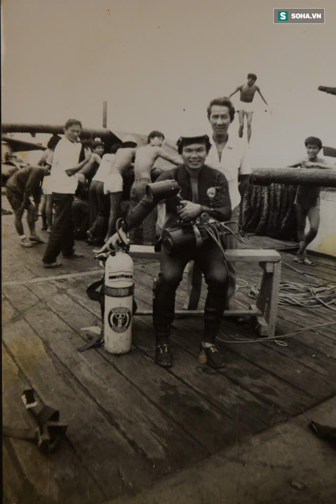 Cận cảnh xác tàu HQ 605 và những chiến sĩ sống sót cuối cùng trong trận hải chiến Gạc Ma 1988 - Ảnh 3.