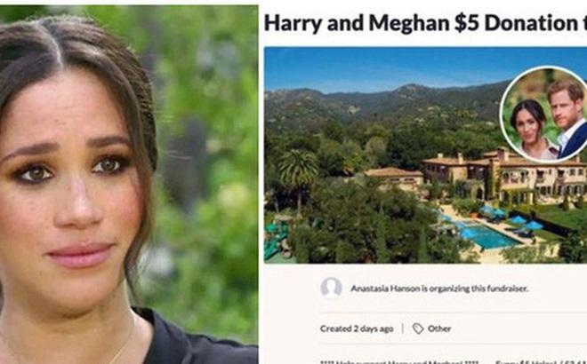 """Chuyện thật như đùa: Dân Mỹ rủ nhau quyên góp giúp vợ chồng Meghan mua nhà sau màn than khổ bị cắt tài chính, Harry có thực sự """"nghèo"""" đến như vậy?"""