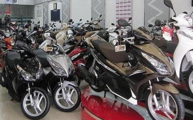 Tiêu thụ xe máy sụt giảm mạnh