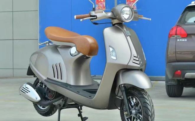 Lộ diện xe máy giống hệt Vespa 946, rẻ hơn cả Honda Wave Alpha, giá chỉ 10 triệu đồng