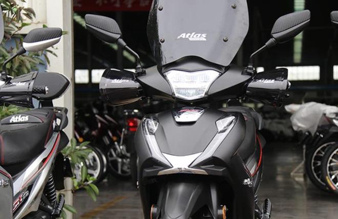 Lộ diện xe máy giống như lột Vespa 946, rẻ hơn cả Honda Wave Alpha, giá chỉ 10 triệu đồng - Ảnh 5.