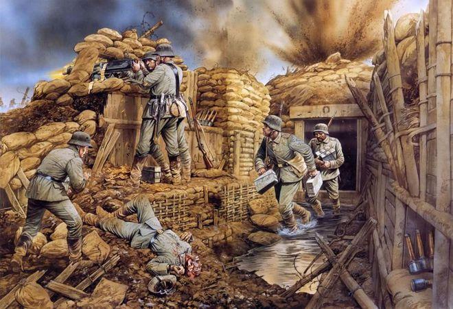 Kinh hoàng hàng triệu con chuột to như mèo khiến binh sĩ Thế chiến I khổ sở - Ảnh 1.