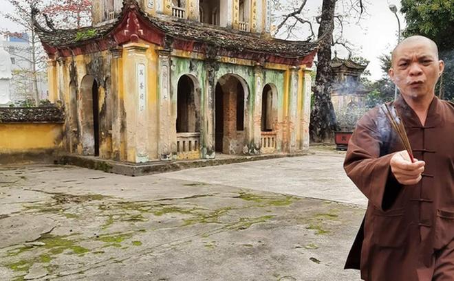 Sư thầy cầm nhang đuổi nữ phật tử chụp ảnh phải tạm thời rời chùa Hưng Khánh