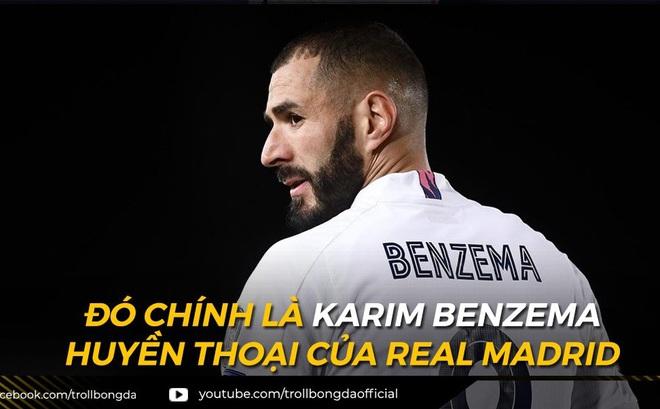 Biếm họa 24h: Benzema xứng đáng là huyền thoại của Real Madrid