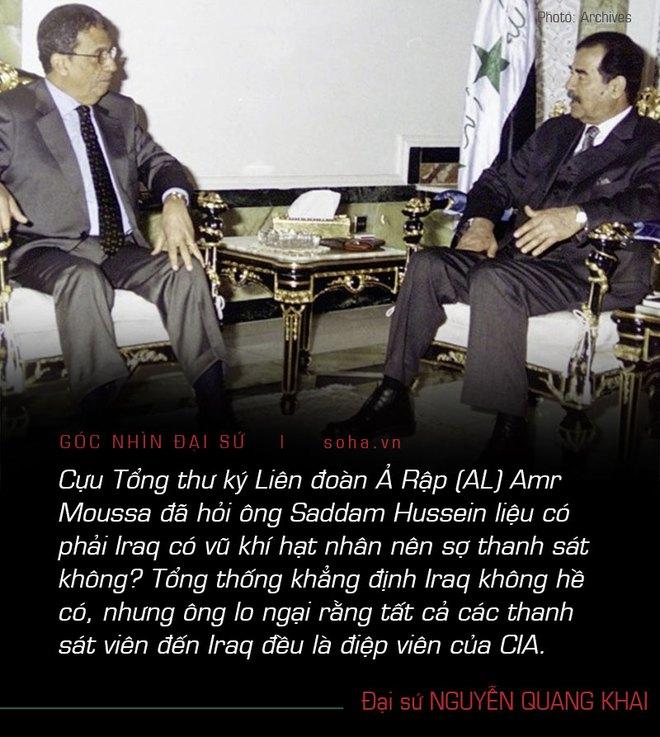 Đại sứ Nguyễn Quang Khai: Nhìn lại 18 năm chiến tranh Iraq và kỉ niệm sống còn trên đất Baghdad - Ảnh 7.