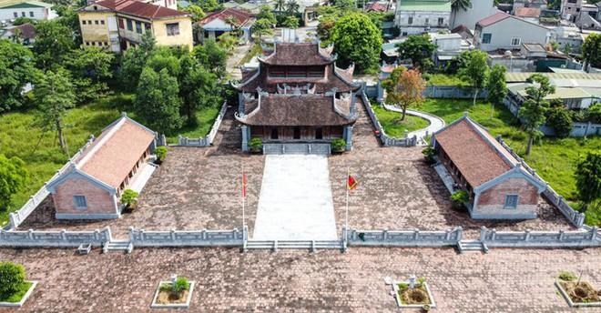 Công trình Văn Miếu gần 80 tỉ ở Hà Tĩnh xây xong không có đường vào - Ảnh 1.
